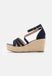 Anna Field - Platform sandals - blue - 0
