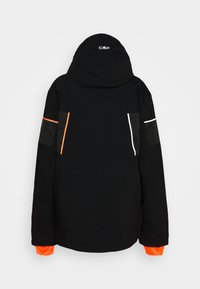 CMP - MAN JACKET ZIP HOOD - Ski jacket - nero - 8