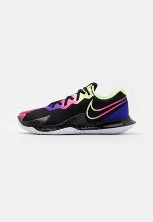 AIR ZOOM VAPOR CAGE 4 - Tennissko til multicourt - black/liquid lime/fierce purple