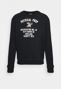 Schott - PHYSICAL - Sweatshirt - black - 4