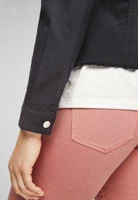 s.Oliver - Denim jacket - black - 6
