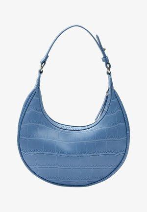 Schoudertas - mottled light blue
