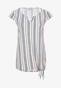 comma casual identity - Blouse - black colour stripes - 4