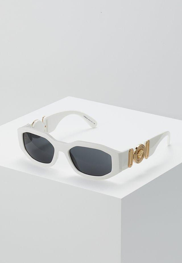 UNISEX - Sluneční brýle - white/black