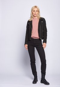 Maze - ROMIE - Leather jacket - black - 0