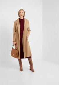STUDIO ID - JENNIFER COAT - Zimní kabát - camel - 1