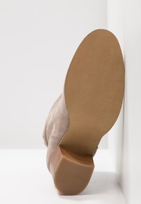 Anna Field - LEATHER BOOTIES - Støvletter - taupe - 6