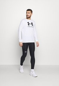 Under Armour - SPORTSTYLE LOGO - Long sleeved top - white - 1