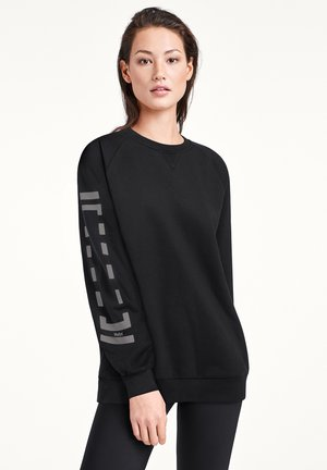 Sweatshirt - black/steel