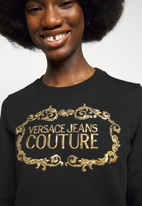 Versace Jeans Couture - LADY LIGHT - Mikina - black/gold - 4