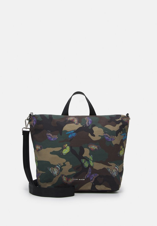 QUEENS WAY BACKPACK SHOPPER - Batoh - green
