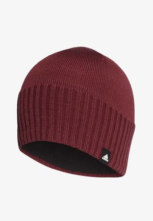 AEROREADY HALF-FLEECE-LINED - Gorro - red