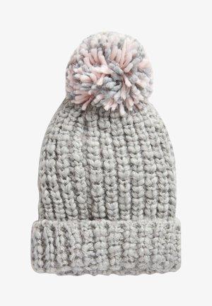 Mütze - mottled grey