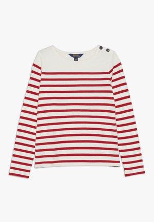 Camiseta de manga larga - clubhouse cream/red