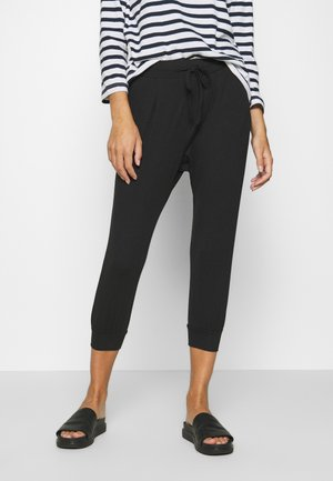 PANDINA CAPRI - Tracksuit bottoms - black