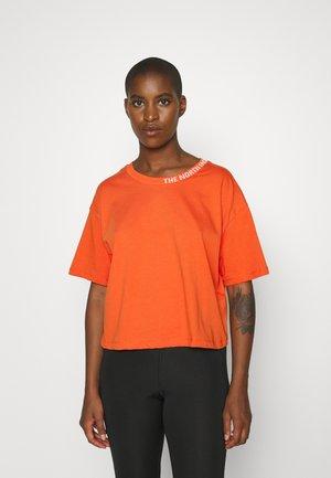 NEW CROP TEE - Basic T-shirt - burnt ochre