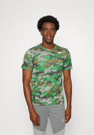 TEE CAMO - T-Shirt print - green noise