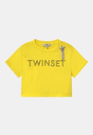 Print T-shirt - sunny lemon