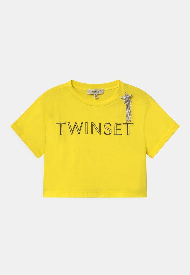 T-shirt imprimé - sunny lemon