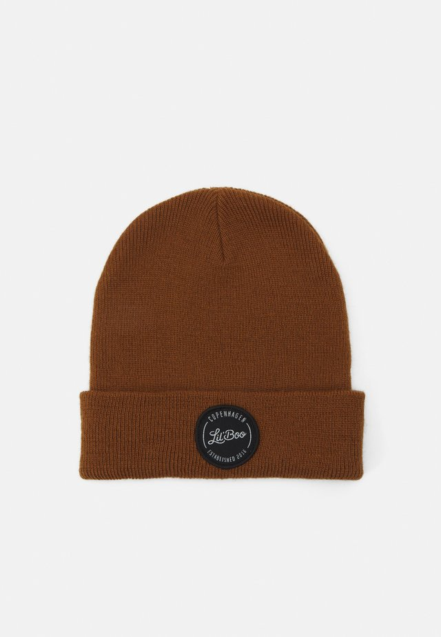 BEANIE UNISEX - Bonnet - brown