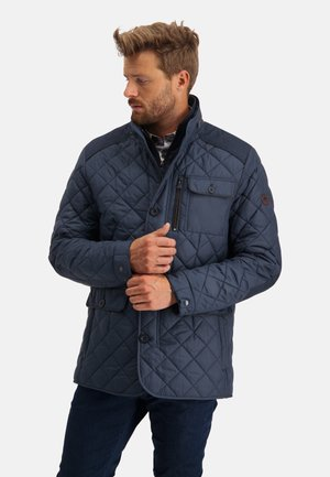 Light jacket - dark-blue plain