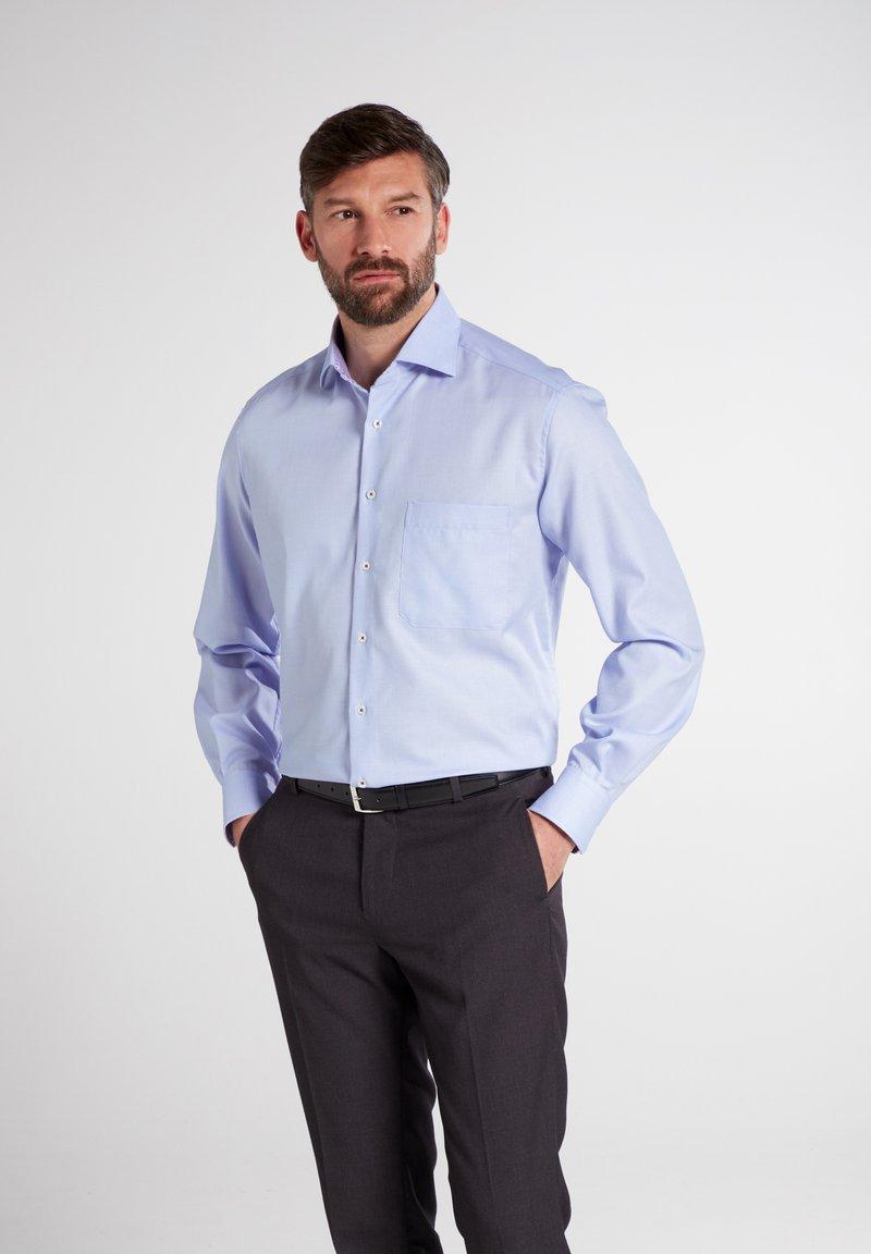 Eterna - COMFORT FIT - Shirt - hellblau