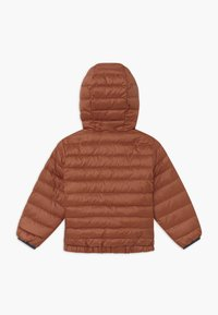 Patagonia - REVERSIBLE HOODY UNISEX - Down jacket - camel/multi-coloured - 1