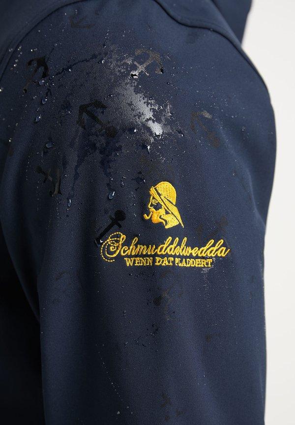 Schmuddelwedda MIT MAGIC-PRINT - Bluza rozpinana - marine/niebieski Odzież Męska TNPW
