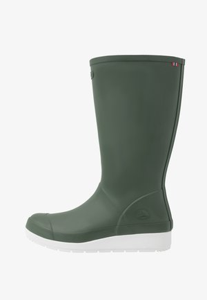 FRID - Wellies - olive/white