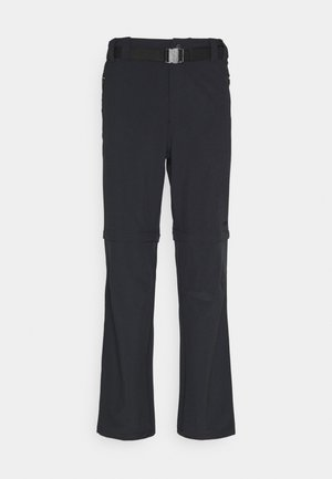MAN ZIP OFF PANT - Pantaloni - antracite