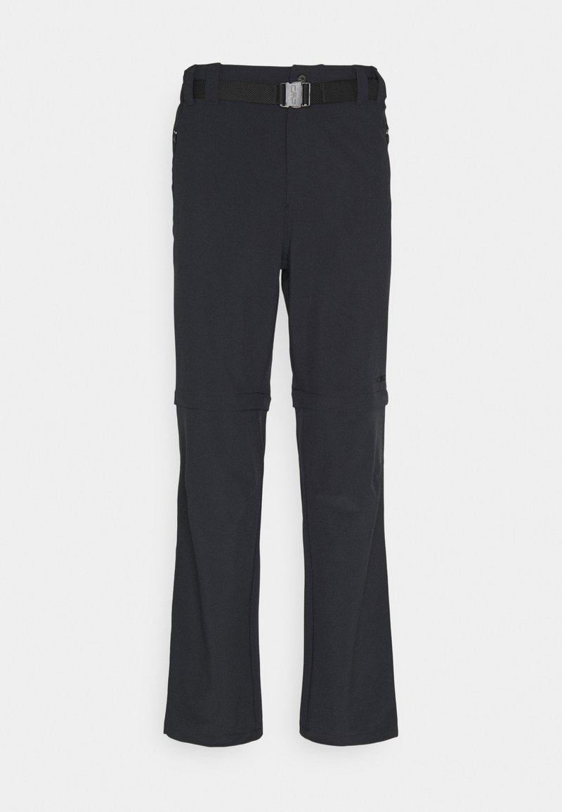 CMP - MAN ZIP OFF PANT - Trousers - antracite