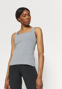 Nike Performance - THE YOGA LUXE TANK - Top - particle grey - 3
