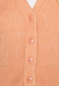 Monki - Cardigan - orange medium dusty - 5