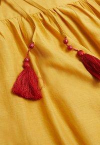 Mango - Maxi dress - moutarde - 4