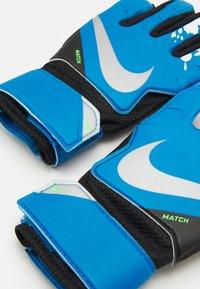 Nike Performance - GOALKEEPER MATCH - Brankářské rukavice - photo blue/black/silver - 2