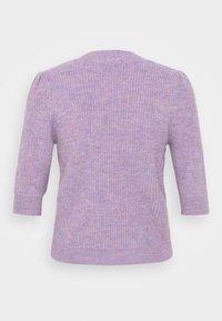 JDY - JDYDREA SHORT CARDIGAN - Cardigan - lavender gray/melange - 1