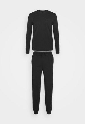 SET - Pyžamová sada - black