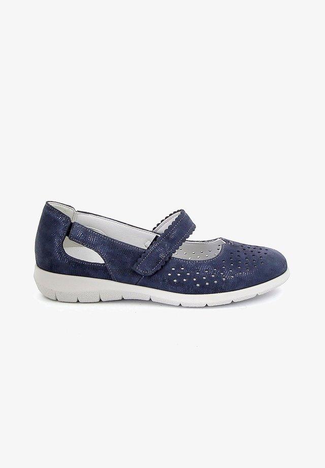 RYSSEU - Sandalen met sleehak - blue