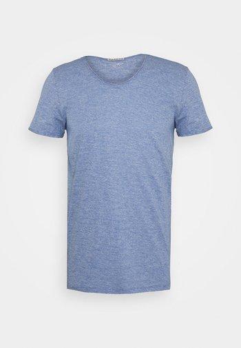 TEE WITH BACKPRINT - T-shirt basic - shiny royal non solid