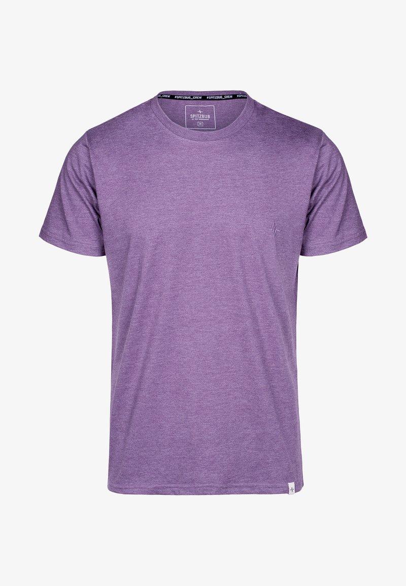 Spitzbub - ARTHUR - Basic T-shirt - purple