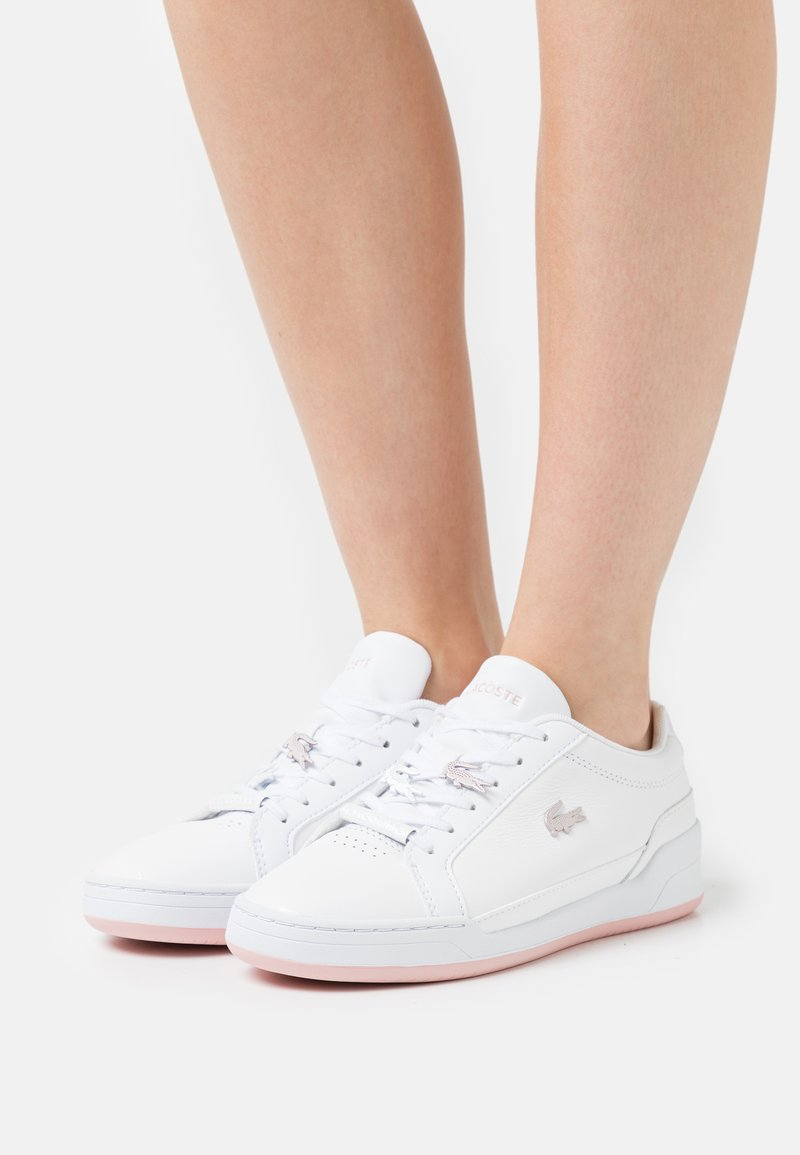 Lacoste - CHALLENGE  - Sneakers basse - white/light pink