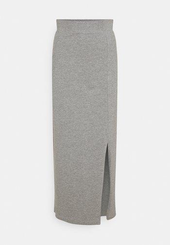 Maxi sukně - mottled grey