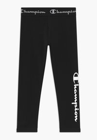 Champion - LEGACY AMERICAN CLASSICS LEGGINGS UNISEX - Leggings - black - 0