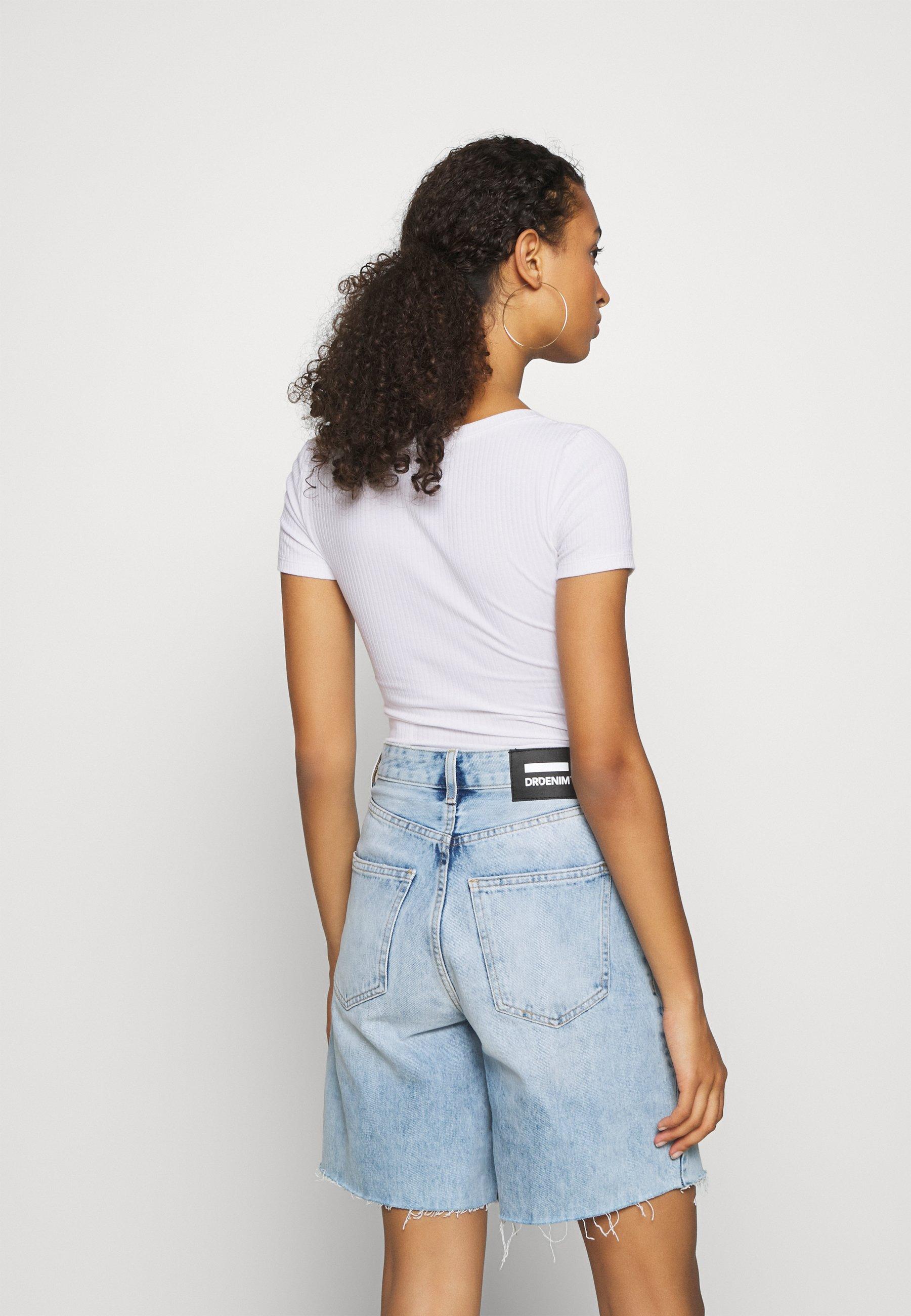 Hollister Co. BODYSUIT BASIC 2 PACK - T-shirts - black/white