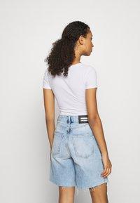Hollister Co. - BODYSUIT BASIC 2 PACK - Basic T-shirt - black/white - 4