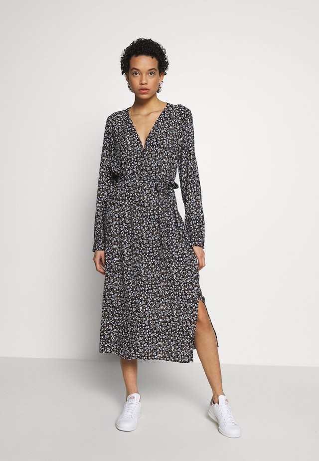 TRISH PRINT DRESS - Robe d'été - dark blue