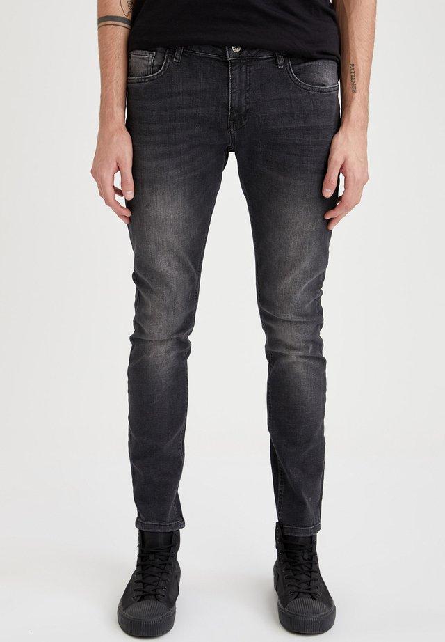 Jeans slim fit - anthracite