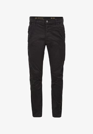 CITISHIELD 3D CARGO SLIM TAPERED - Cargo trousers - dk black gd