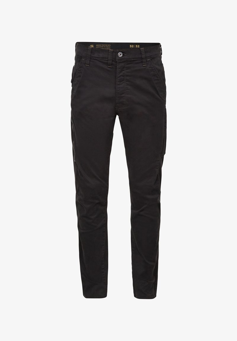 G-Star - CITISHIELD 3D CARGO SLIM TAPERED - Cargo trousers - dk black gd