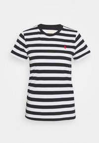 Polo Ralph Lauren - T-shirt imprimé - white/black - 5